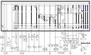 رله زیمنس lfl-نقشه برق رله مشعل
