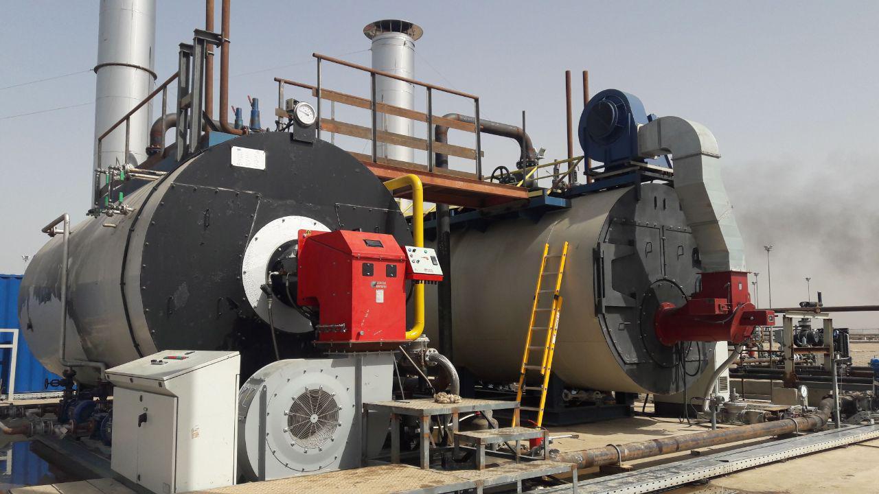 نصب و راه اندازی مشعل17.5MW پروژه نفتی آزادگان