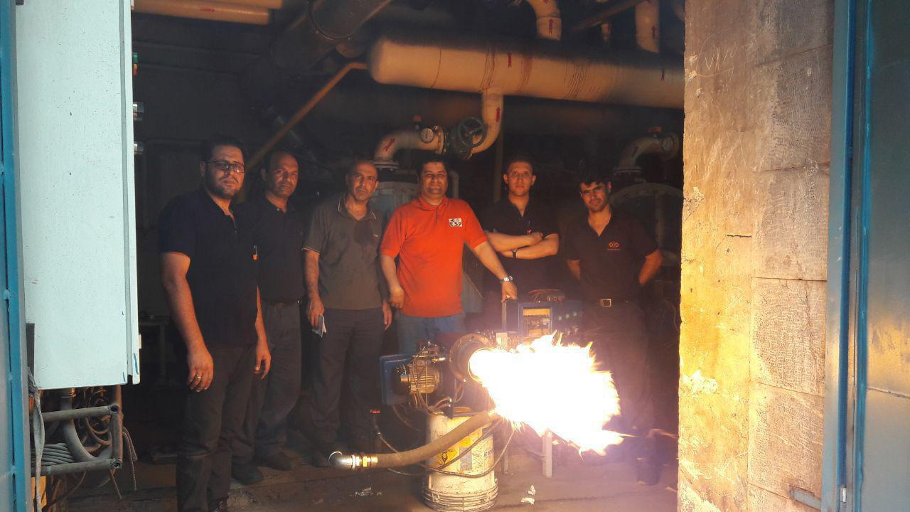 آموزش مشعل-آموزش تعمیر مشعل-مشعل صنعتی-