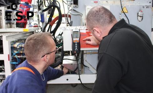 تنظیم مشعل- تعمیر مشعل- کاهش مصرف مشعل موتورخانه