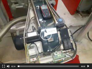 آموزش عملکرد مشعل Riello مدل RS 70