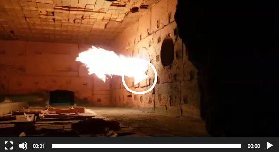 عملکرد مشعل در داخل کوره