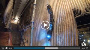 بررسی خرابی لوله های بویلر توسط رباتها