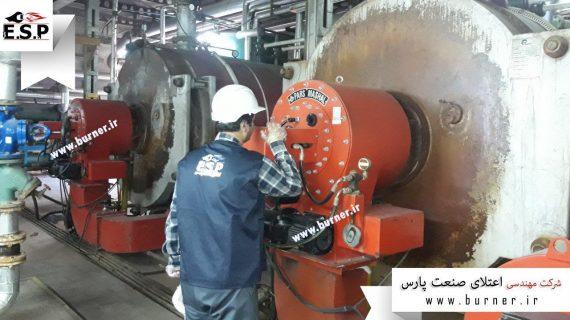 سرویس مشعل صنعتی