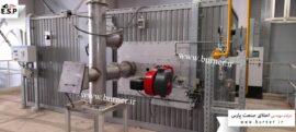 نصب و راه اندازی مشعل weishaupt کوره صنعتی